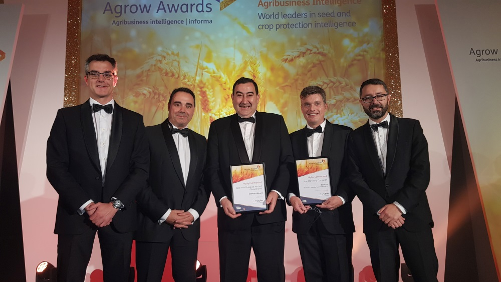Seipasa is highly commended at the Agrow Awards 2018