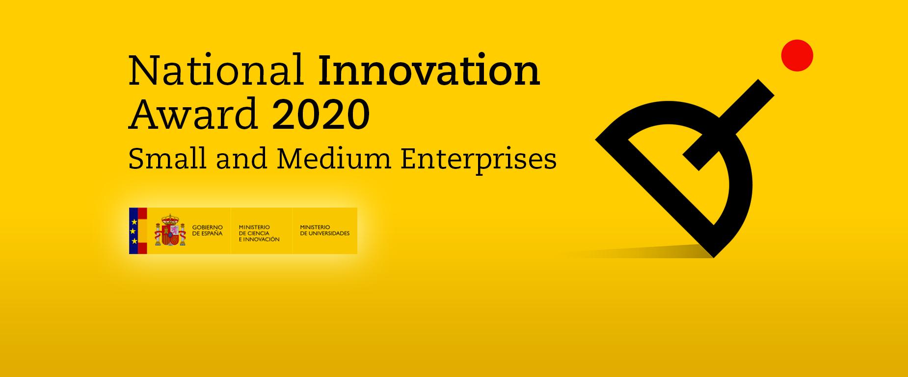 Seipasa receives the National Innovation Award 2020