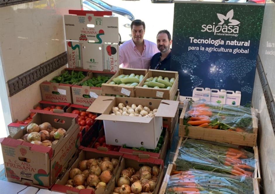 Seipasa and Fitesa donate 3 tonnes of zero-residue vegetables Covid19
