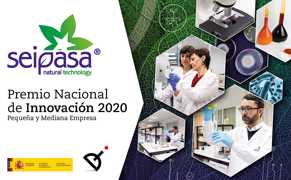 Seipasa wins the 2020 National Innovation Award