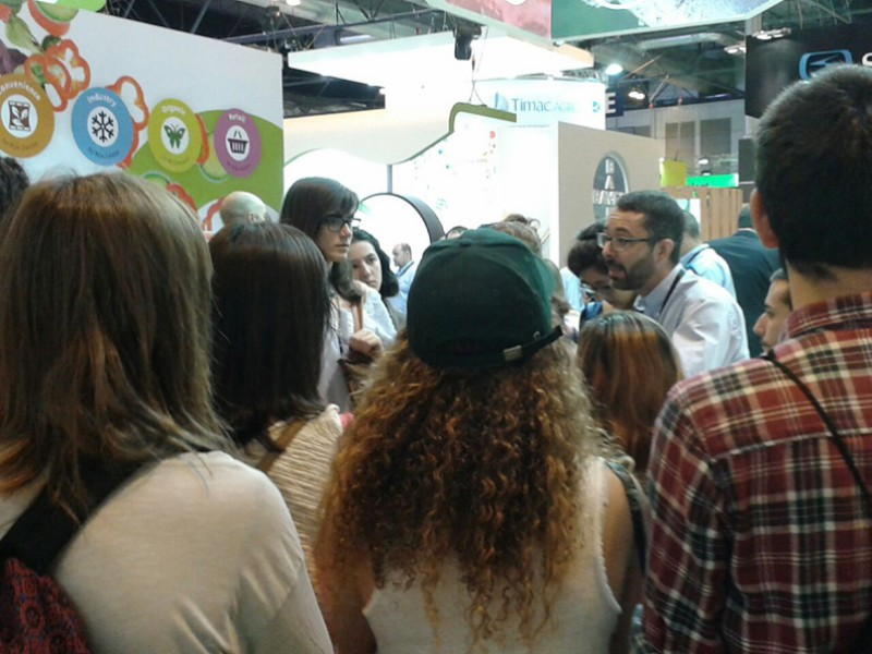 SEIPASA en Fruit Attraction 2016: Estudiantes de la UPM